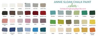 Annie Sloan Chalk Paint Color Chart How To Paint With Chalk Paint Easy Guide