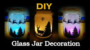 Decorating Ideas For Glass Jars DIY Christmas Mason Jar Decoration Glass Jar Decoration Ideas 78