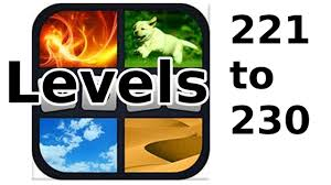 4 pics 1 word level 221 to 230 walkthrough