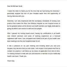 Thank You Email After Interview U2013 40 Free Sample Example