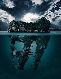 ocean water background. Mystery Island Secret Background Wallpaper Ocean Water