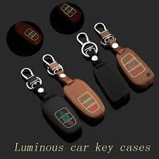 2018 audi key fob cover.  key genuine leather car key fob case cover for audi a4 a8 a6l q7 new smart to 2018 audi key