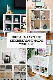 28 IKEA Kallax Shelf Dcor Ideas And Hacks You'll Like