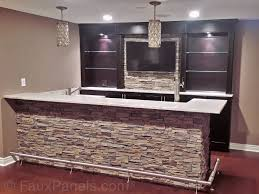 Mini Bars For Man Cave  Cool And Masculine Basement Bar Ideas - Unfinished basement man cave ideas