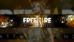 free fire banner and logo by yineaz521