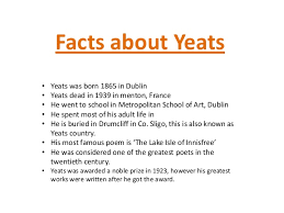 william butler yeats english project william butler yeats 2