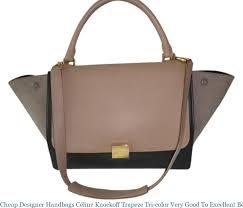 designer handbags céline knockoff tze tri color very good to excellent beige black brown leather suede shoulder bag celine replica bag