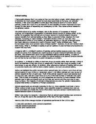 sample argumentative essay on animal testing scholarship essay  barron s gre 19th edition by esol club issuu