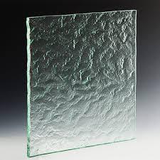 rocky mountain textured glass