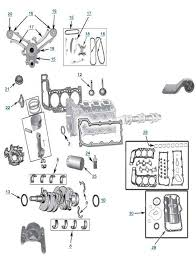 Jeep Liberty 3.7L Engine Parts - Liberty 3.7 Engine Diagram | 4WD.com