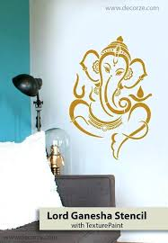 asian paint wall stencils wall painting