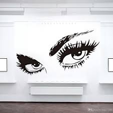 Wall Decor Sticker Sexy Eyes Pvc Wall Stickers Mural Art Decal Home Decor Home Wall