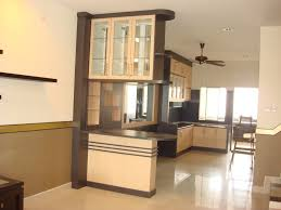Open Kitchen Partition Wooden Partition Between Living Room And Kitchen Kitchen And