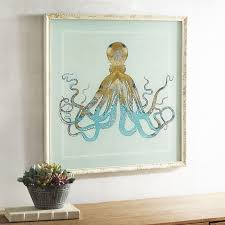 absolutely smart octopus wall art or pier 1 imports target diy metal canada set print canvas