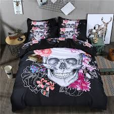 unique duvet covers. Perfect Covers New Unique 3d Skeleton Duvet Cover Sets 4pcs Designs Skull Bedroom  Bedding Set Flat Fitted To Covers V