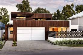 dark brown garage doors18 Inspirational Examples of Modern Garage Doors  CONTEMPORIST