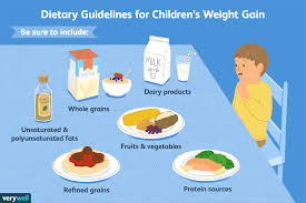Chart Of Different Food Items Healthy High Calorie Foods For Underweight Children