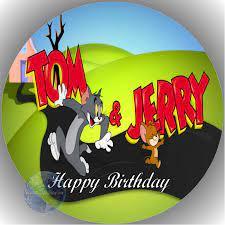Tortenaufleger Esspapier Tom & Jerry 4