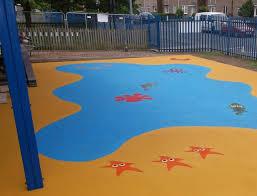 wet pour recreational flooring contractors