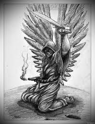все изображения ангел воин эскиз Heliographru