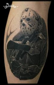 Jason Voorhees Friday The 13th Tattoo By Gollandets Art тату