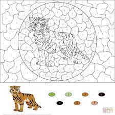 Small Picture Free Color By Numbers DeerColorPrintable Coloring Pages Free