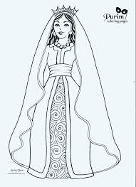 Coloring Pages Queen Esther Coloring Pages Page Bible Story Brave