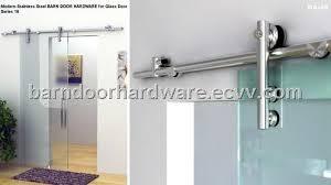 modern glass barn door. Free Shipping Modern 304 Stainless Steel Barn Door Hardware For Glass
