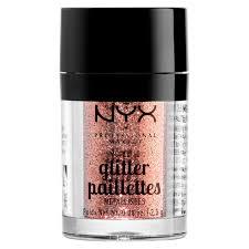 nyx professional makeup metallic glitter dubai bronze lookfantastic