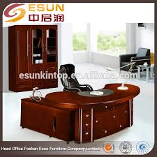 professional office furniture half round european style semi circle 100 mdf executive office desk semi circle office desk executive office desk