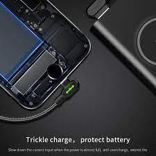 Dây Cáp Sạc Nhanh Mcdododo 90 Độ Có Đèn Led Cho Iphone 11 Xs Se Max Xr X 8  7 Plus Ios 13 12 11