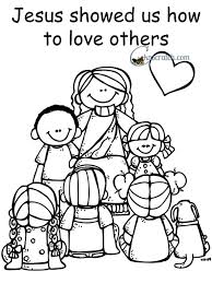 Small Picture Love One Another Coloring Page Cecilymae