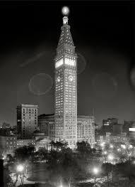 new york city circa 1910 metropolitan life insurance company building at night note