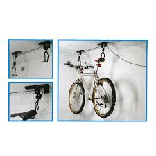 ceiling mounted hanging bicycle bike lift bicycle wall hanging rack bicycle wall hook bicycle display stand