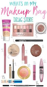 basic makeup items list. i wanted to share with you today my go tried and true drugstore products ones basic makeup items list