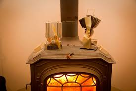 picture of diy wood stove fan for under 50