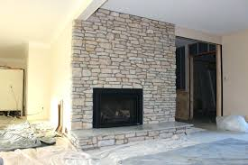 refacing a brick fireplace with stone veneer amazing fireplace mesmerizing stone veneer over brick fireplace cost
