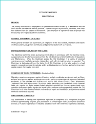 Apprenticeship Electrician Resume Free Download Electrician Cover