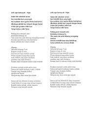 Lirik Lagu Sumayyah