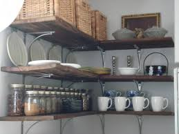 Kitchen Wall Shelving Kitchen Shelving Ideas The Most Original Options For Designing