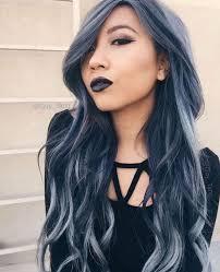 Denim Hair Pastel Hair Coloration Cheveux