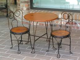 peachy chairs ice cream parlor table bistro set also in and fanciful mississippi piece cast