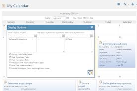 Calendar View Project Insight Project Management Software