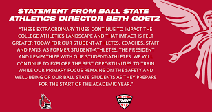 A message from athletics director Beth... - Ball State Sports   Facebook