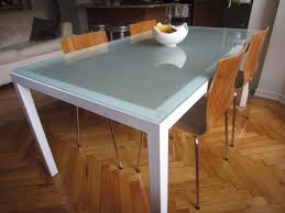 Frosted Glass Dining Room Cb2 Table Year Of Clean Water