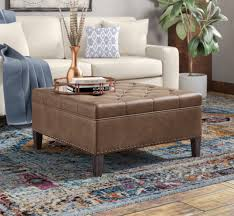 s l640 tufted ottoman coffee table