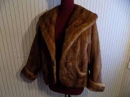 wild mink kolinsky fur jacket coat w fur cuffs and ons