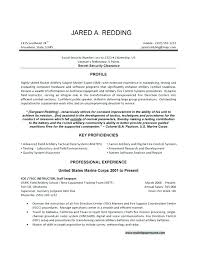 Military Veteran Resume Examples Military To Civilian Resume ...