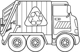 Small Picture Garbage Truck Coloring Pages with regard to Residence Cool