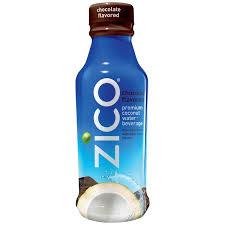 zico premium coconut water beverage chocolate